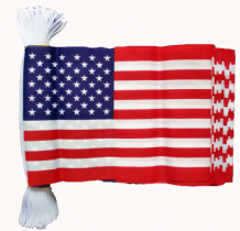 U.S.A. BUNTING - 9 METRES 30 FLAGS